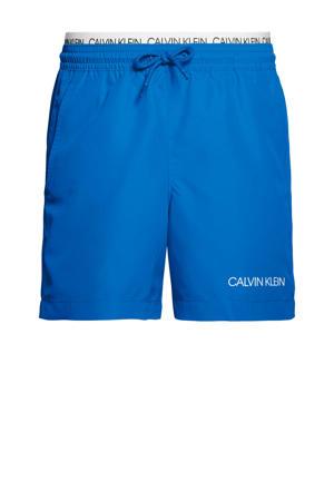 zwemshort blauw/wit