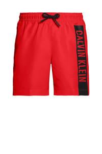 CALVIN KLEIN zwemshort rood/zwart, Rood