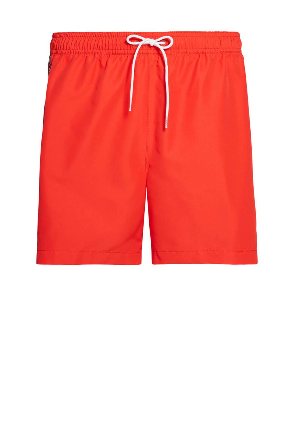 CALVIN KLEIN zwemshort oranje, Oranje