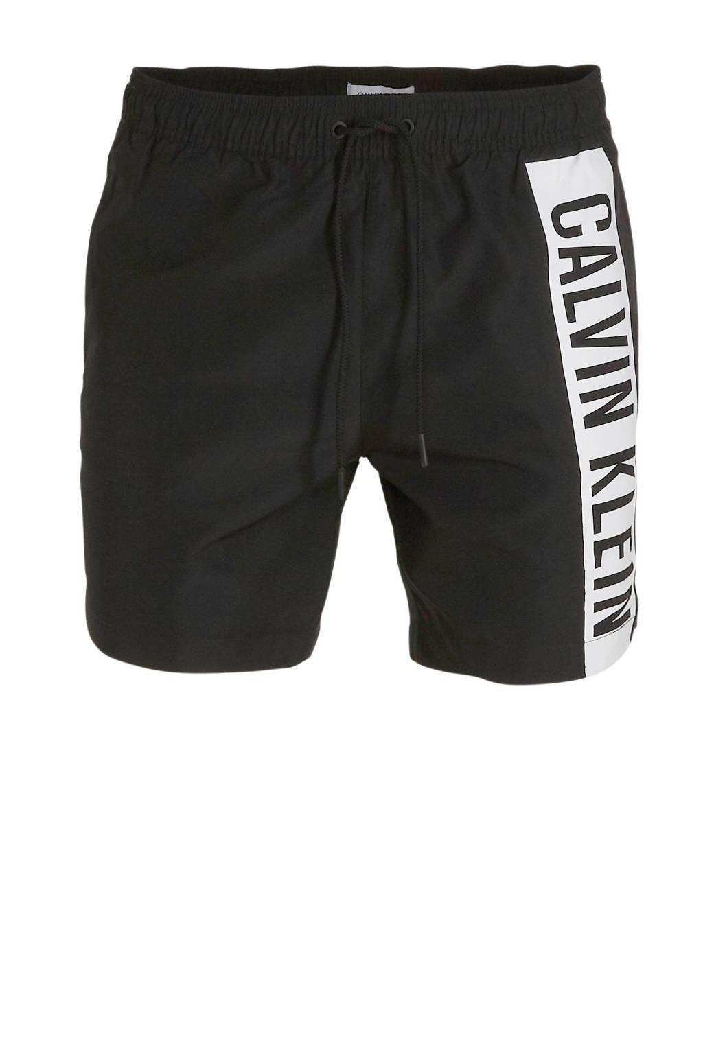 CALVIN KLEIN zwemshort zwart, Zwart
