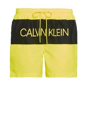 zwemshort geel/zwart