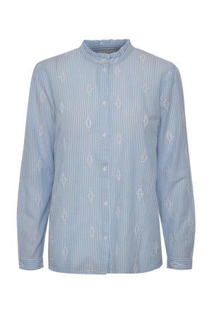 gestreepte blouse Paula blauw