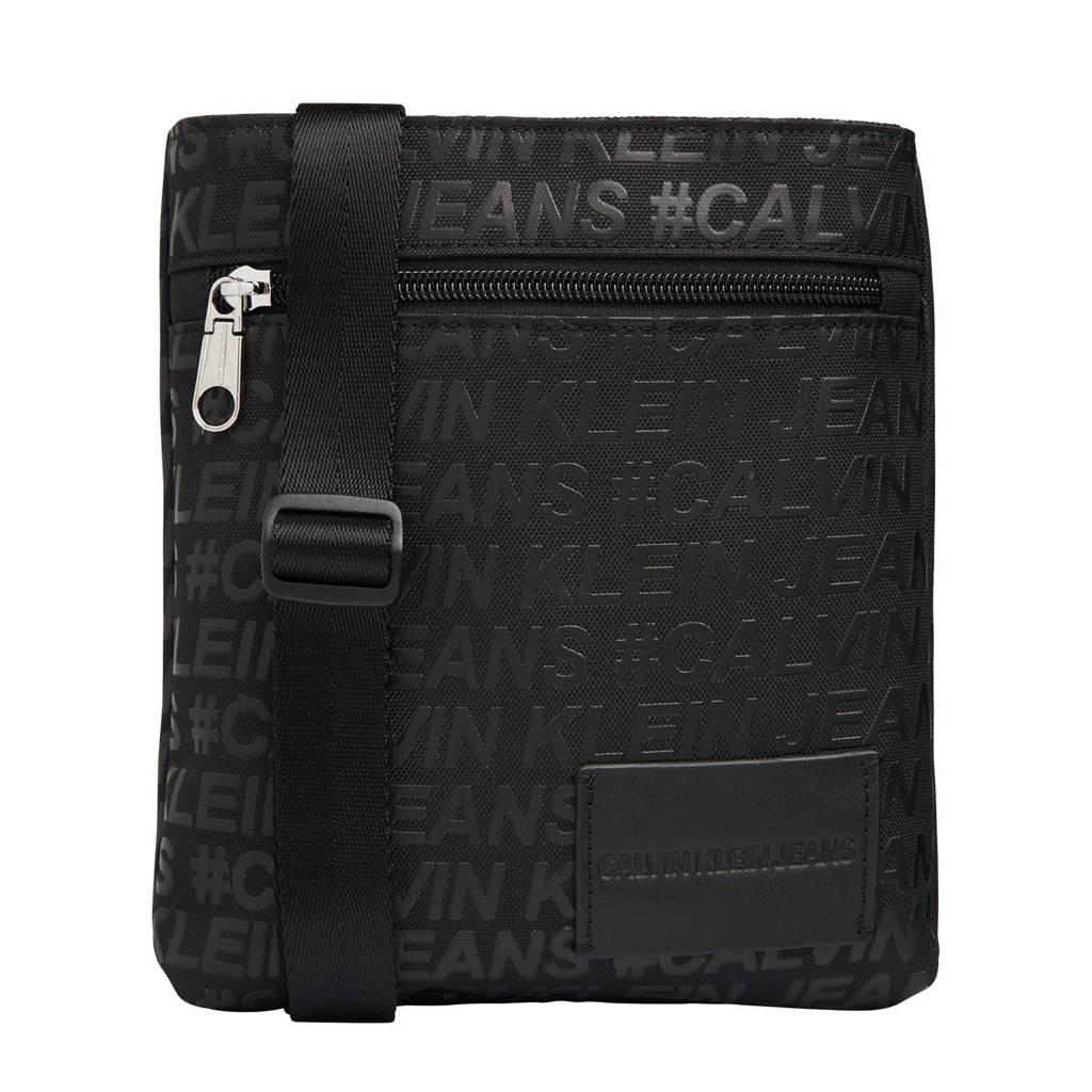 CALVIN KLEIN   laptoptas zwart, Zwart