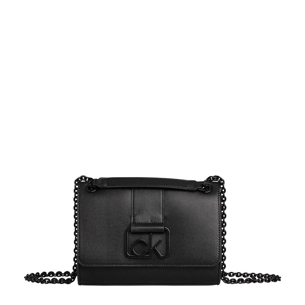 CALVIN KLEIN   crossbody tas zwart, Zwart