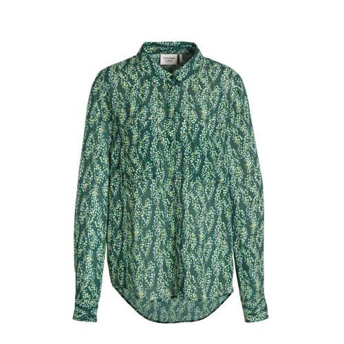 Another-Label blouse Dreiser Snake met all over pr