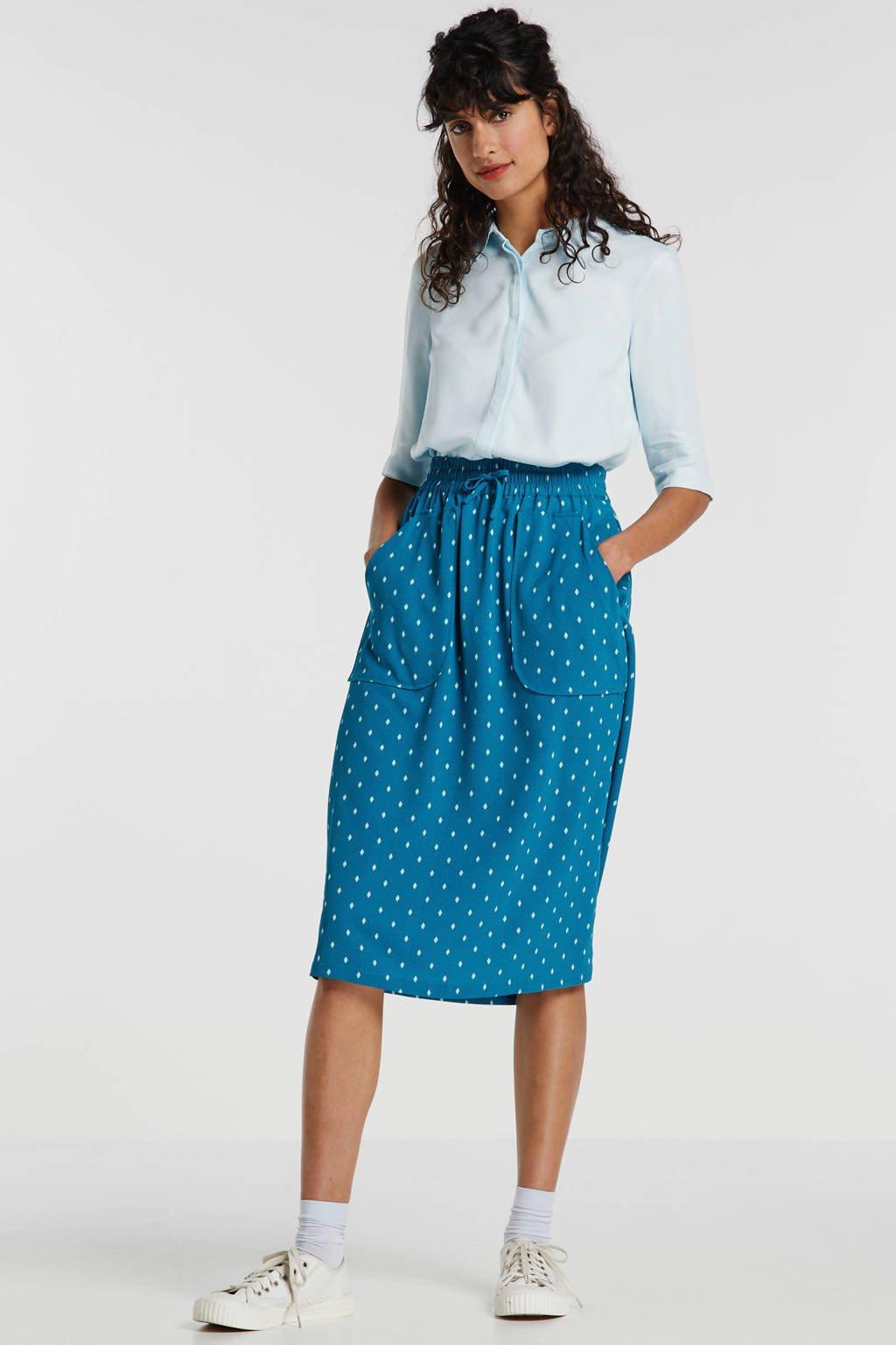 Another-Label blouse lichtblauw, Lichtblauw