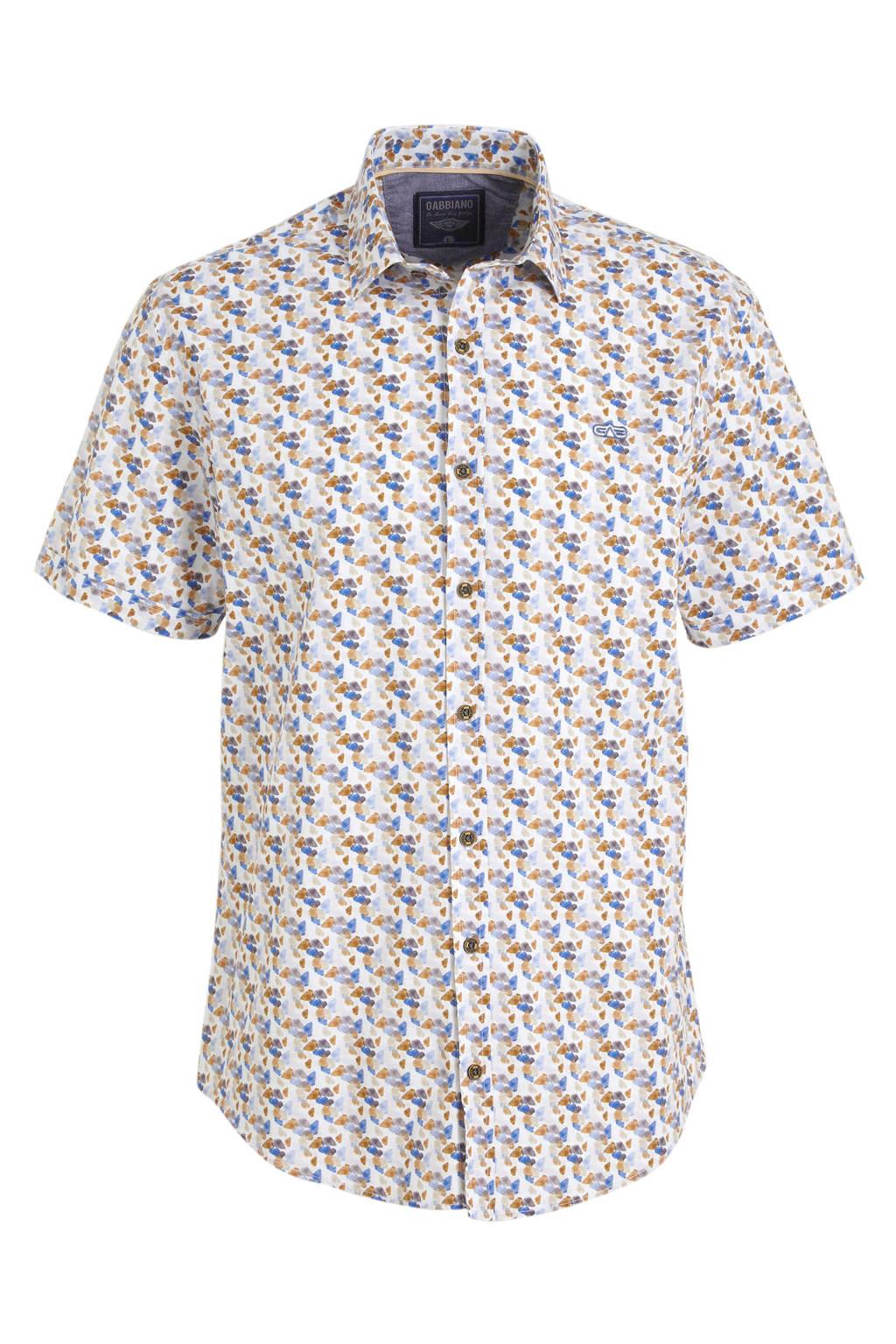GABBIANO regular fit overhemd wit, Wit