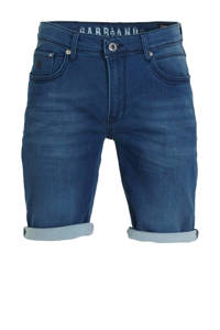 GABBIANO slim fit jeans short donkerblauw, Donkerblauw