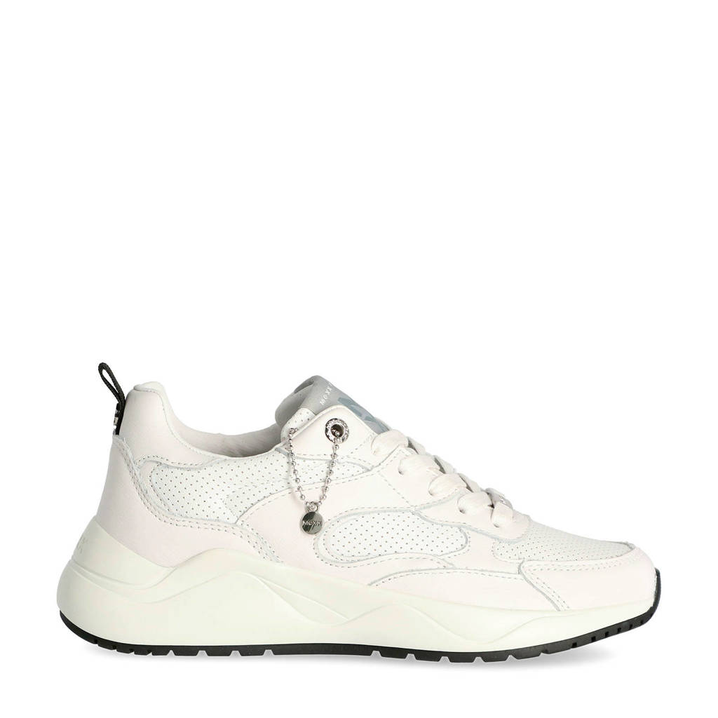 Mexx Dyonna  leren sneakers wit, Wit