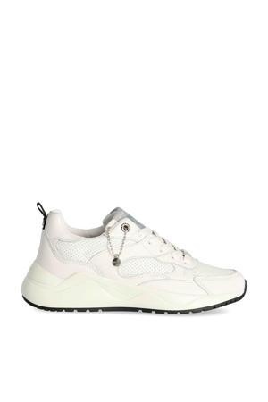 Dyonna  leren sneakers wit