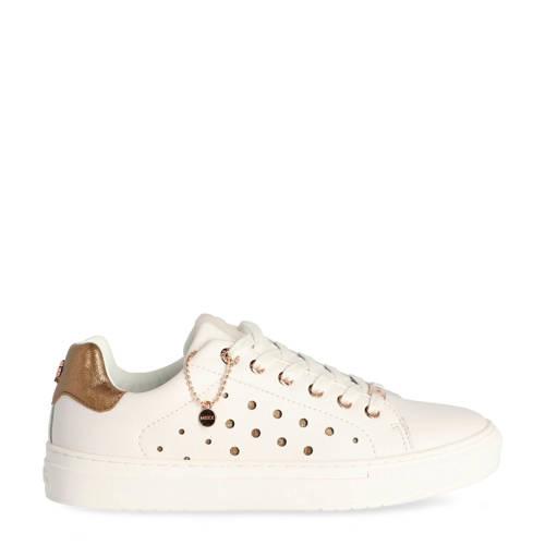 Mexx Elma sneakers wit/goud