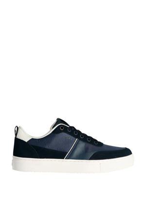 Diesel  suède sneakers blauw