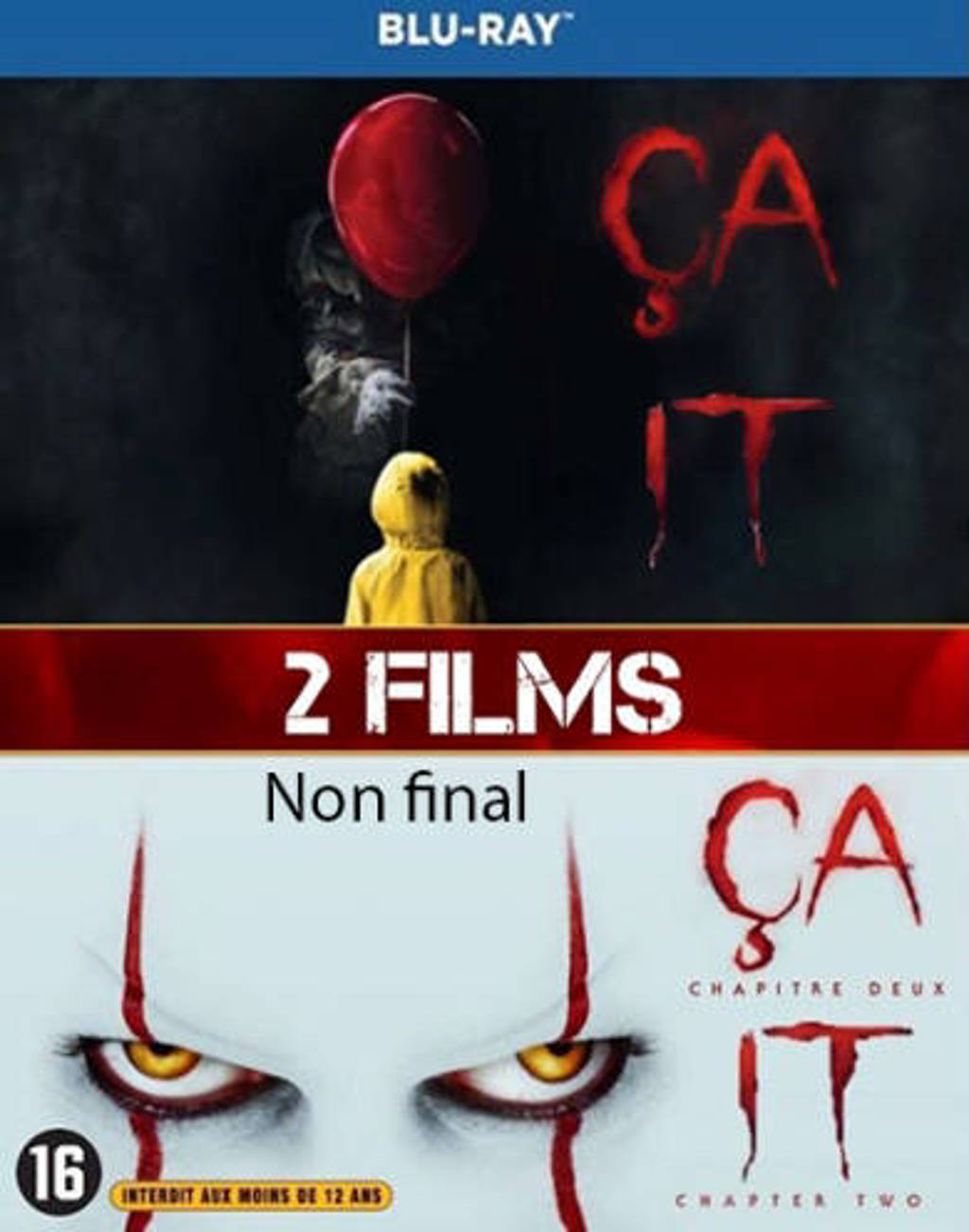 It - Chapter one & two (Blu-ray)
