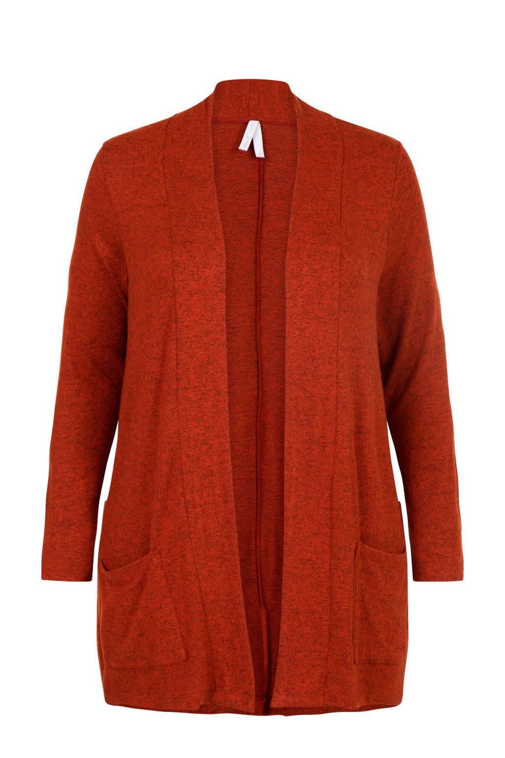 Miss Etam Plus vest bruin, Bruin