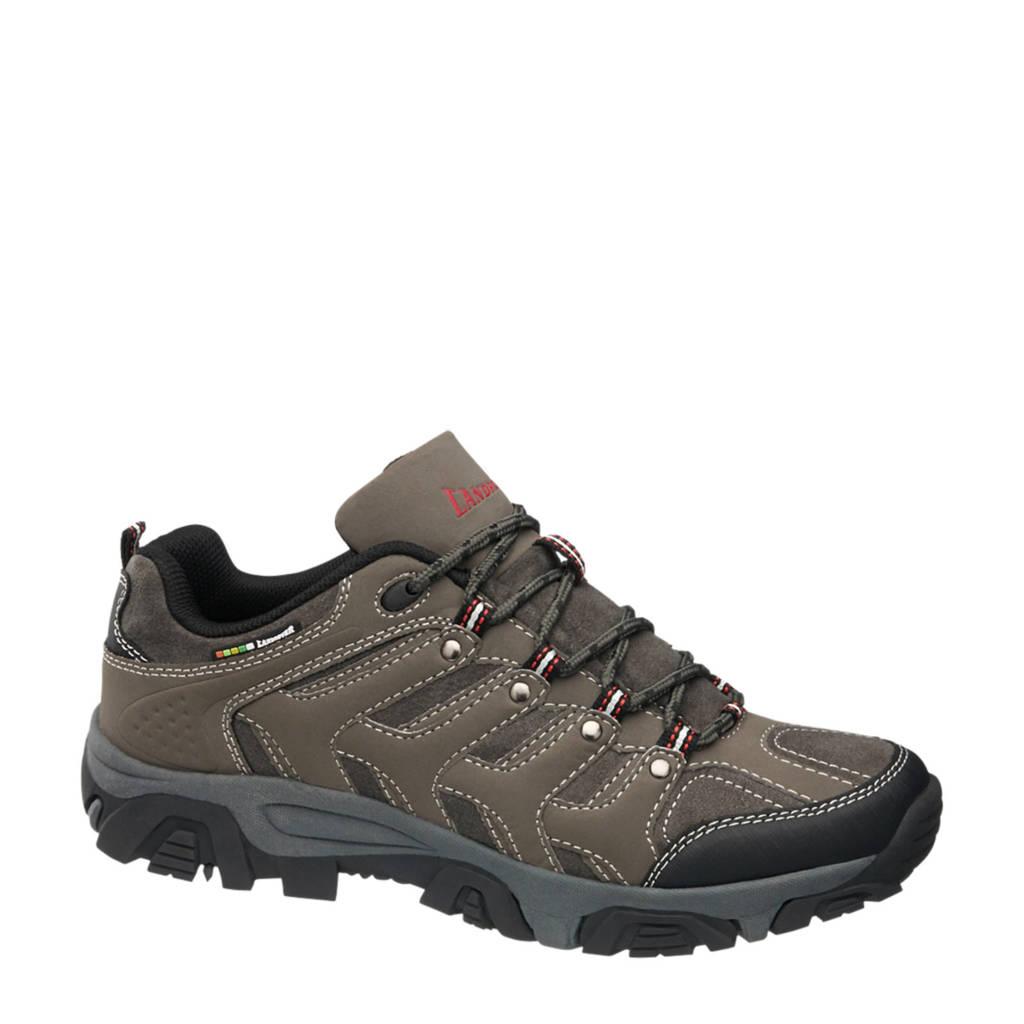 Landrover   wandelschoenen bruin/grijs, Bruin/grijs