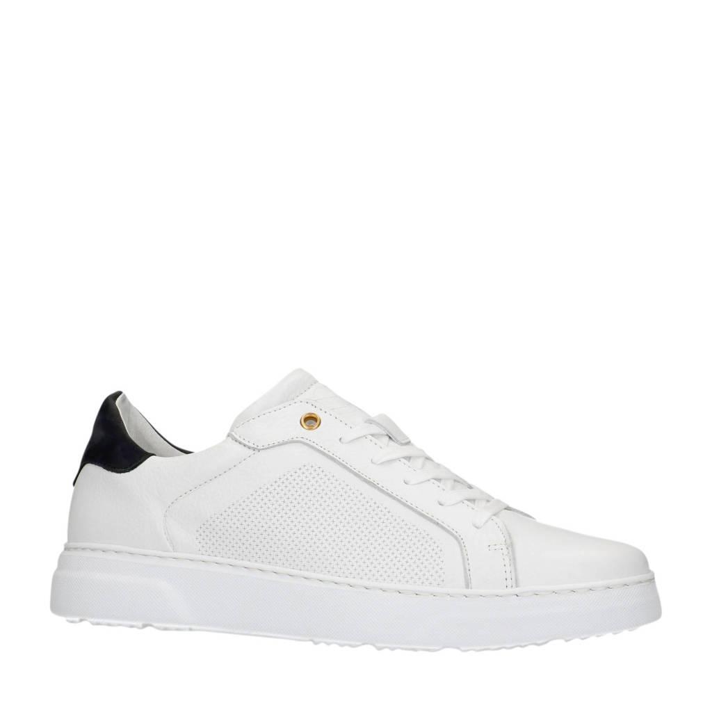 Sacha   leren sneakers wit, Wit