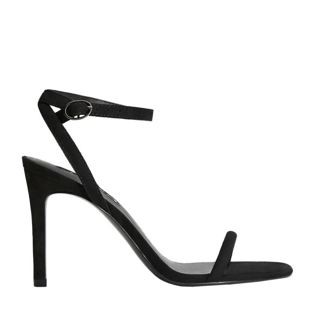 Mango   sandalettes zwart, Zwart