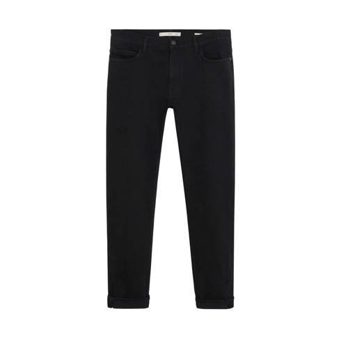 Mango Man slim fit jeans zwart