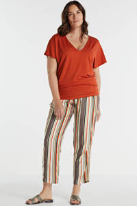 anytime top Plus size rood, Rood