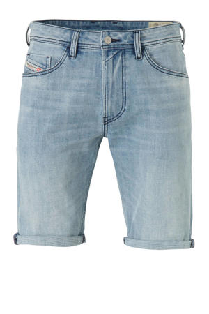 regular fit jeans short light denim