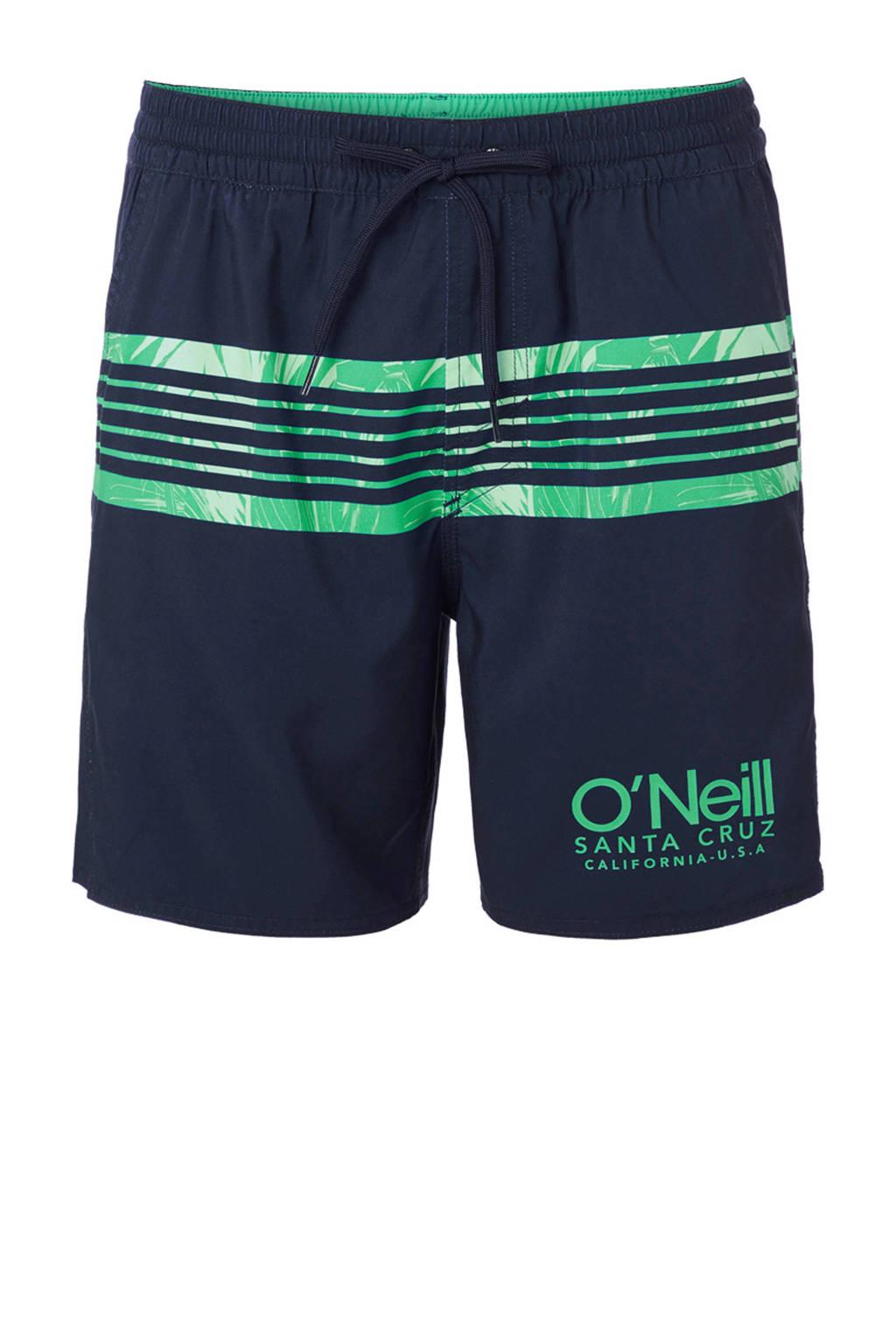 O'Neill zwemshort Cali donkerblauw/groen, Donkerblauw/groen