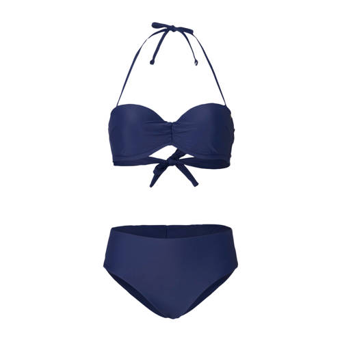 O'Neill strapless bandeau bikini Haava Malta blauw