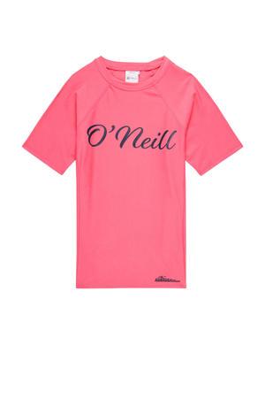 UV shirt met logo roze