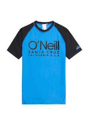 UV shirt Cali blauw/donkerblauw