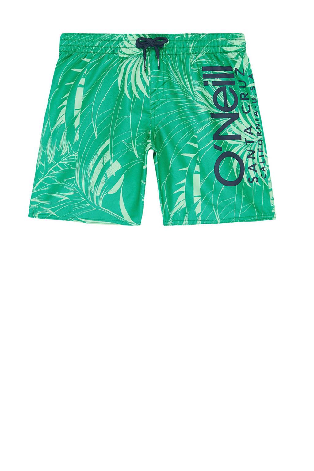 O'Neill zwemshort met all over print groen, Groen