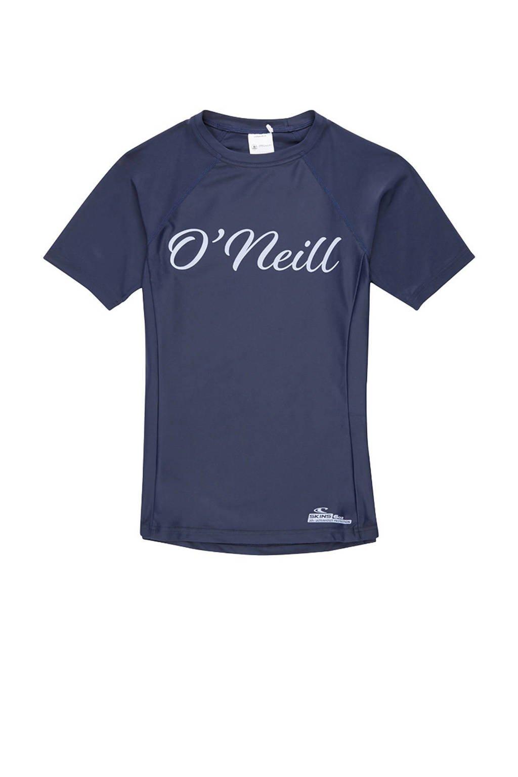 O'Neill UV shirt met logo donkerblauw, Donkerblauw