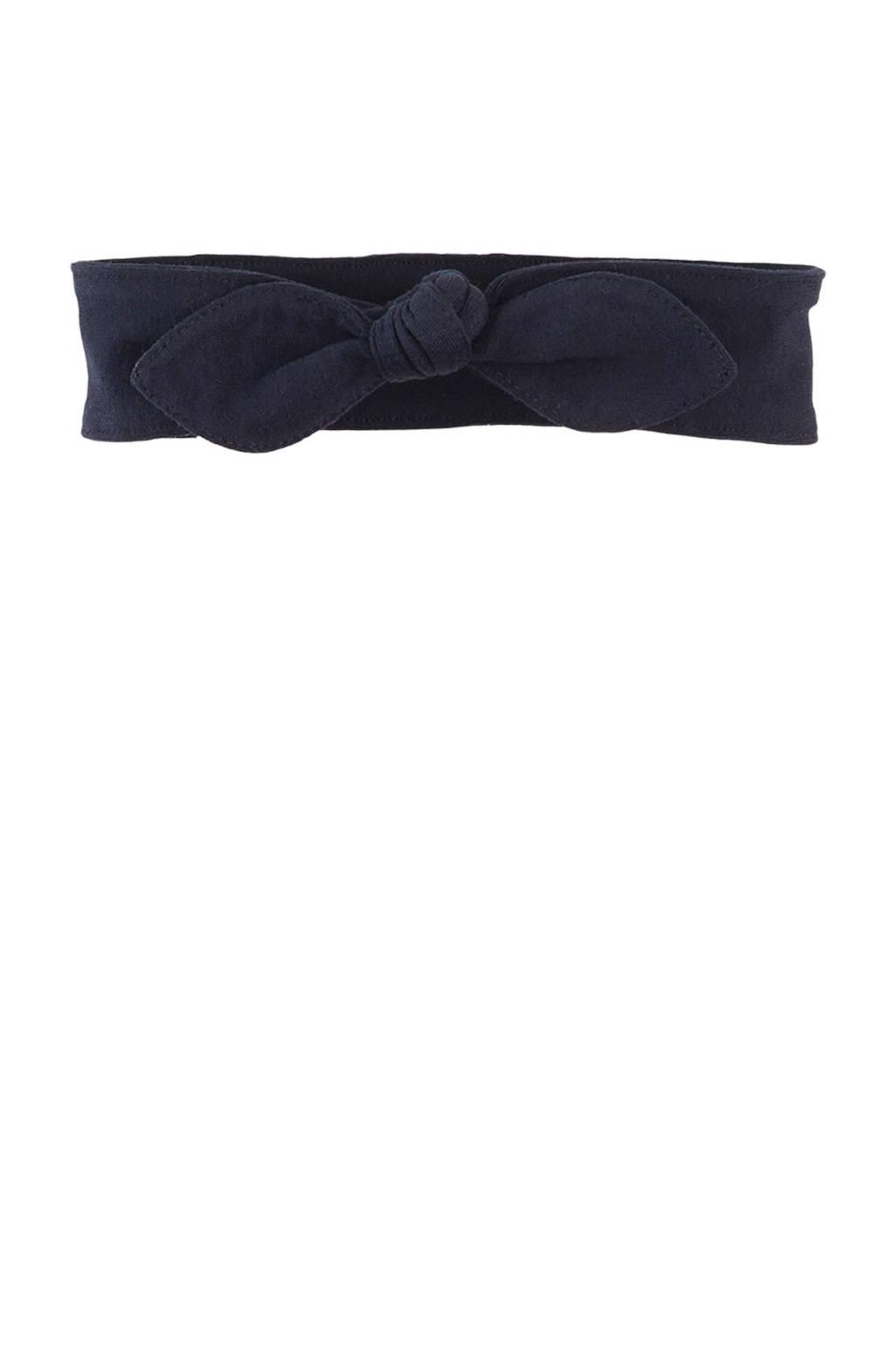 Z8 newborn haarband Doortje donkerblauw, Donkerblauw
