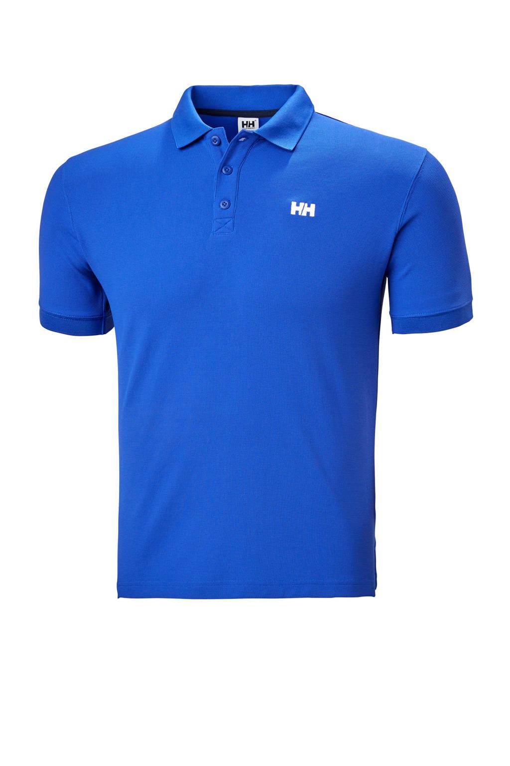 Helly Hansen polo Driftline blauw, Blauw