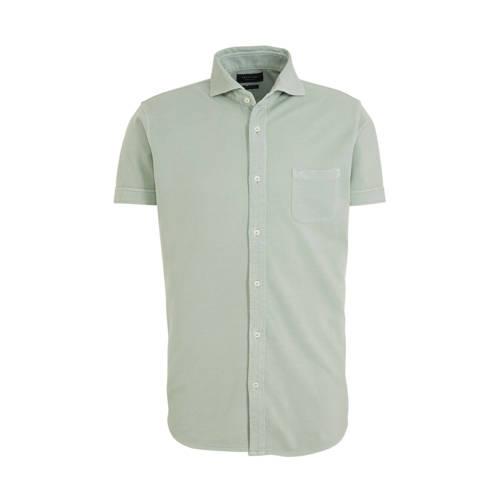 Profuomo slim fit overhemd lichtgroen