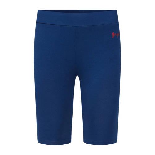 WE Fashion biker short blauw