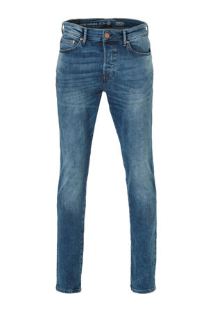 The Denim loose fit jeans donkerblauw
