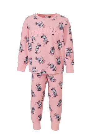 Disney @ pyjamabroek en sweater minnie mouse