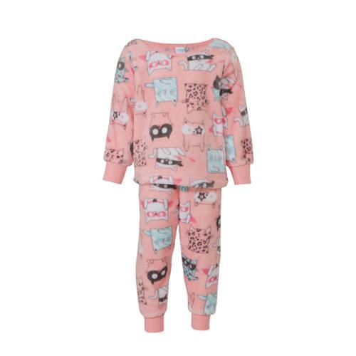 C&A Palomino pyjamabroek en sweater roze all over print