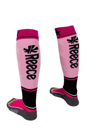 Surrey hockeysokken roze