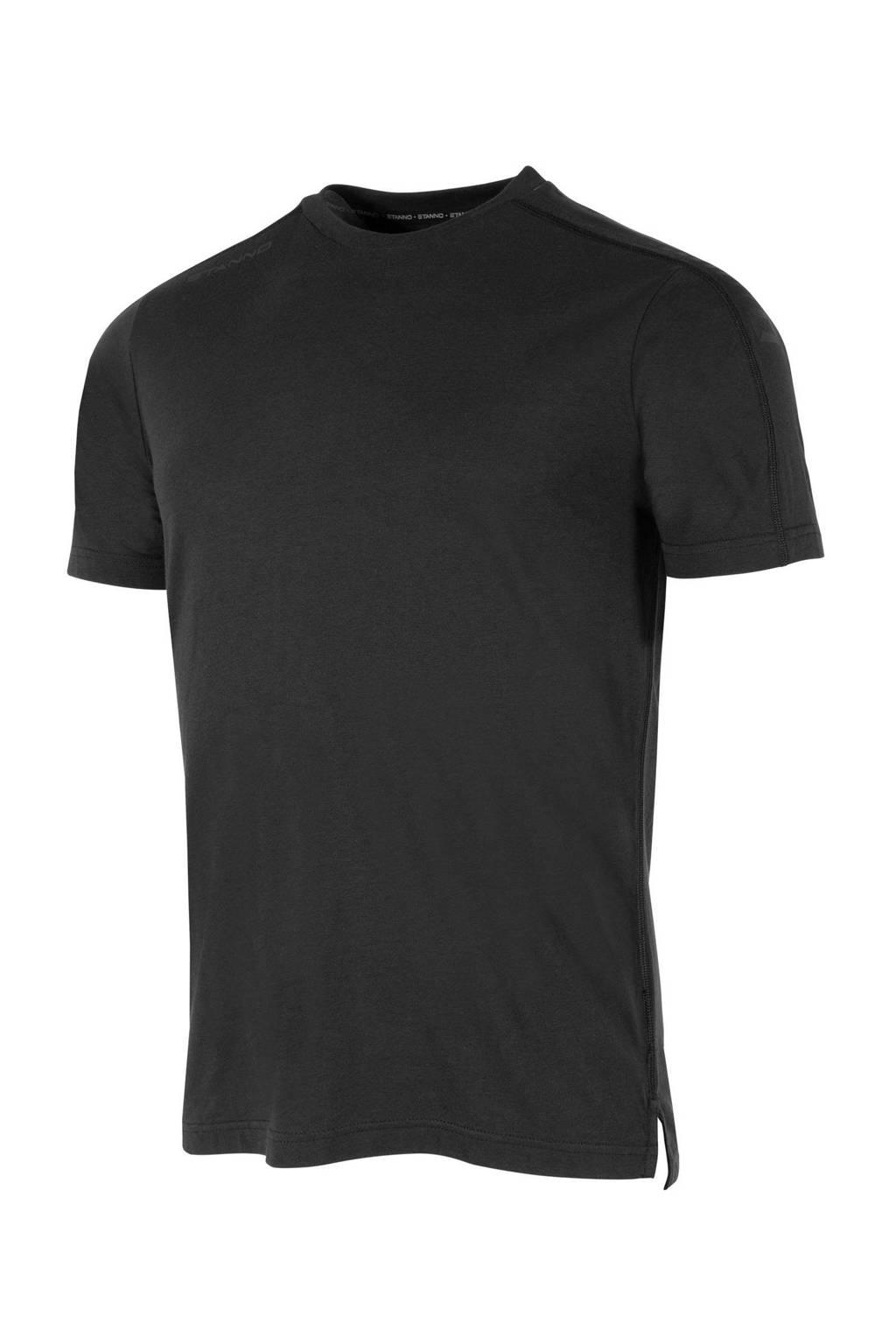 Stanno Senior  voetbalshirt zwart, Zwart