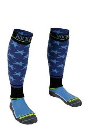 Surrey hockeysokken blauw