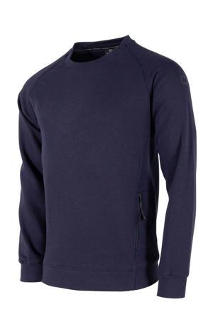Senior  sportsweater donkerblauw