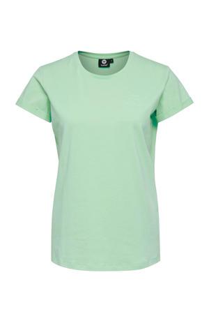 sport T-shirt Isobella mintgroen