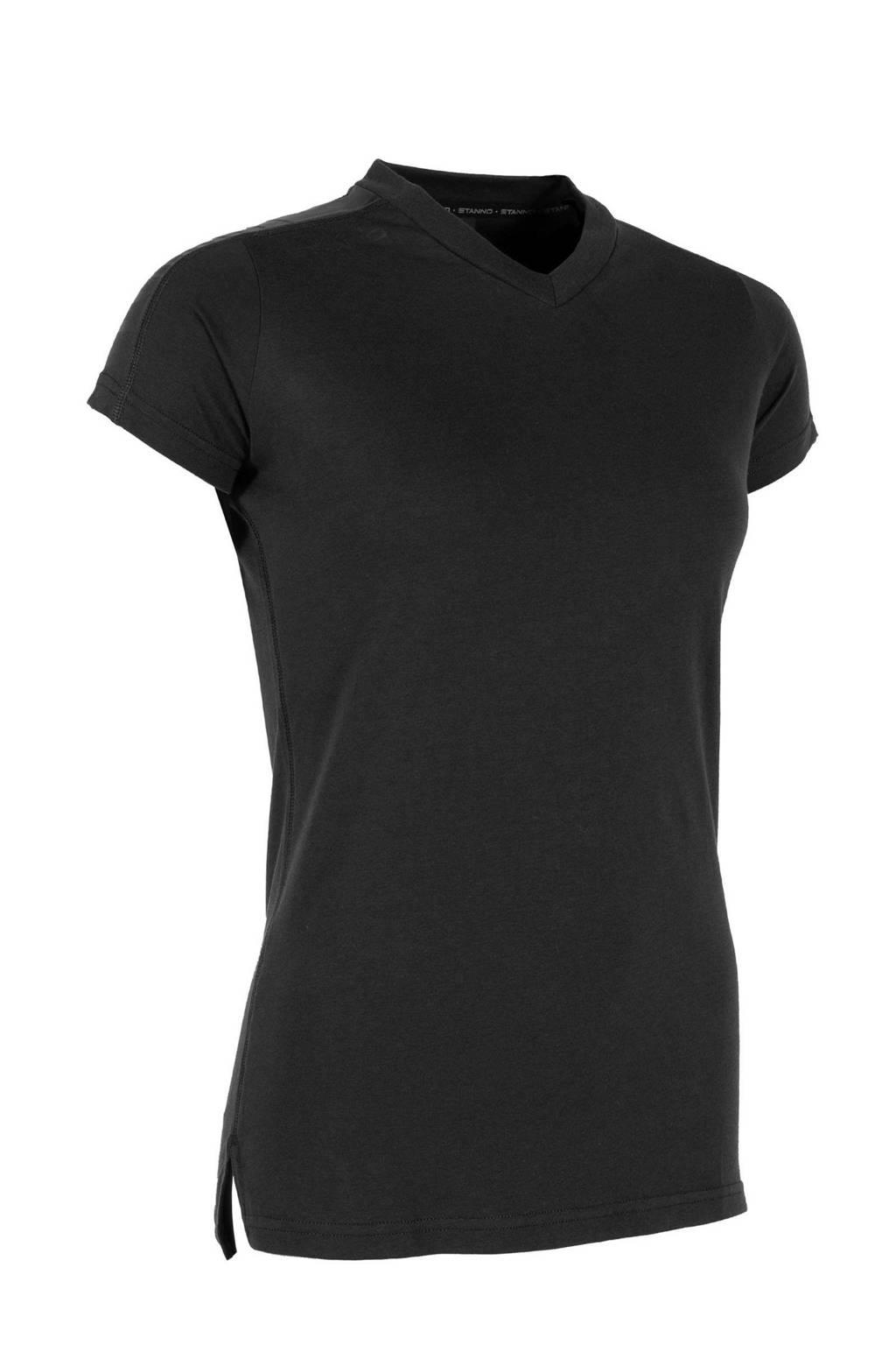 Stanno sport T-shirt zwart, Zwart