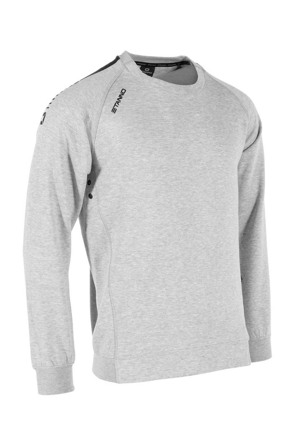 Stanno Senior  sportsweater grijs melange, Grijs melange