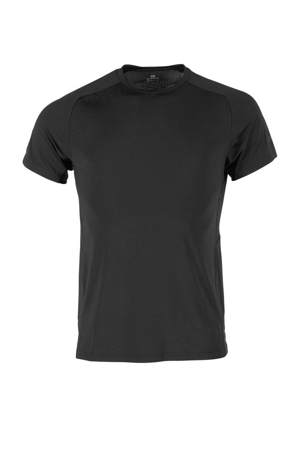 Stanno Senior  sport T-shirt zwart, Zwart