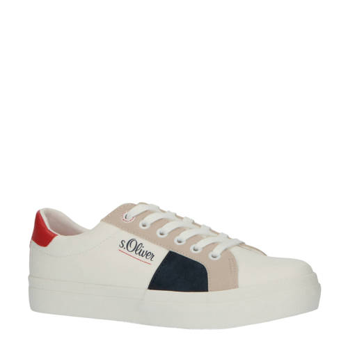 s.Oliver sneakers wit/multi
