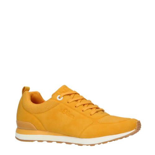 s.Oliver sneakers geel