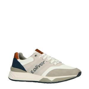 sneakers wit/grijs/blauw
