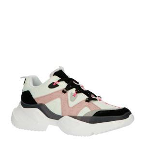 Nika EMB W  chunky sneakers roze/multi