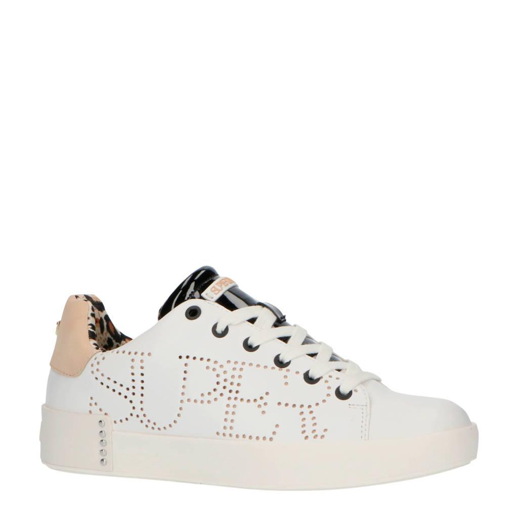 Supertrash Lewi LSR W  sneakers wit/beige, Wit/beige